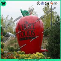 Wholesale Advertising Inflatable Fruits Replica Giant Inflatable Apple Model from china suppliers