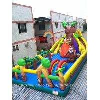 Wholesale New Inflatable Bouncy Fun City and Inflatable Bouncy Jumping Castle for Amusement Park from china suppliers