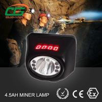 Wholesale CE ATEX MSHA approved led miners cap lamp cordless with digital screen from china suppliers