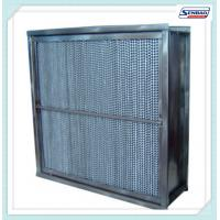 Wholesale Fiberglass Media High Temperature Hepa Filter Cassette Type Home Hepa Filter from china suppliers