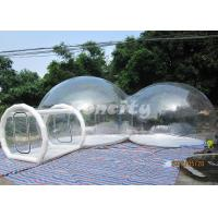 China Durable Custom made Double Room Inflatable Bubble Tent For Party Or Event on sale