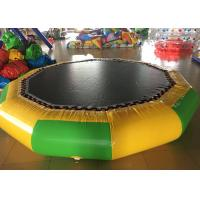 Wholesale Big Floating Inflatable Water Trampoline , Multi Color Outdoor Inflatable Water Park from china suppliers