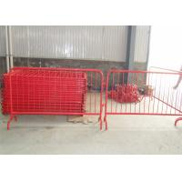 Wholesale Crowd Control Barriers Manufactuers directly supply RAL 2004 Dupont Powder Coated Crowd Control Barriers from china suppliers