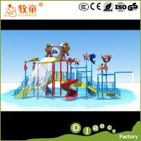Wholesale Children Water Play Equipment Fiberglass Material Kids Water Park , Funny Water Play Area from china suppliers