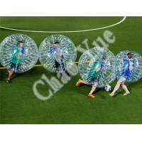 Wholesale Custom Durable Inflatable Bumper Ball Bubble Balloon Football Sport(CY-M2724) from china suppliers