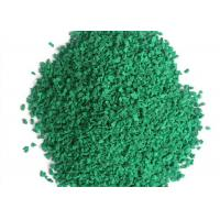 Wholesale Colored Healthy Artificial Grass Tools , Small Rubber Granule Infilling Synthetic Grass Tools from china suppliers