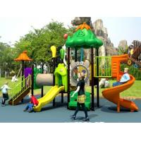 Wholesale Hot sale vegetable fruit serie outdoor playground with plastic slide from china suppliers