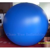 Buy cheap 4M Blue Inflatable Helium Balloon for advertising from wholesalers