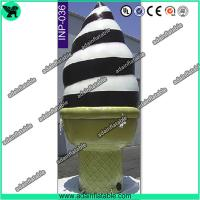 Wholesale Event Advertising Inflatable Icecream Cone/Promotion Icecream Replica Inflatable Model from china suppliers
