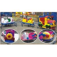 Wholesale Funny Small Kiddie Outdoor Games Amusement Park Train , Cartoon Design from china suppliers