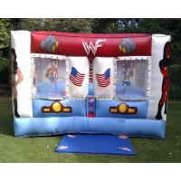 Buy cheap Anime Inflatable Bounce Houses Sumo Wrestling Ring Sports Bounce House from wholesalers