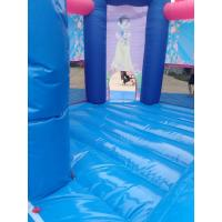 Quality Pink Princess Girl Inflatable Bounce House Combo Double Stitching 4Mx 4M X 4M for sale
