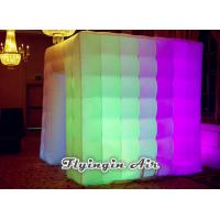 Wholesale 2.2m*2m*2.5m Inflatable Led Photo Booth with Light for Party and Events from china suppliers