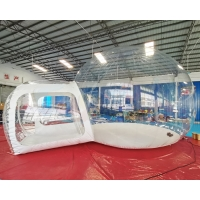 Wholesale Single Tunnel Clear Dome Inflatable Crystal Bubble Tent from china suppliers
