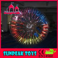 China Z-073 Clear and Shining Zorb Ball Inflatable Zorb on sale