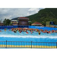 Wholesale Outside Holiday Resort Surfable Wave Pool Artificial Tsunami For Kids / Adults from china suppliers