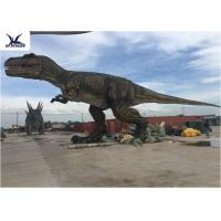 Buy cheap Amusement Park Large Realistic T Rex Yard Art Lawn Statue Warranty 1 Year from wholesalers