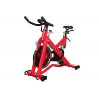 Indoor Exercise Gym Spin Bike , Commercial Cardio Spinning Exercise Machine for sale