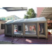Wholesale Automatic Car Inflatable Spray Paint Booth 6mx4mx3m With Logo Printing from china suppliers