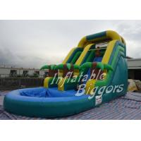 Wholesale Amusement Park Inflatable Giant Blow Up Water Slides , AU Inflatable Fun Rentals from china suppliers