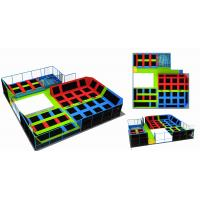 Wholesale 376M2 Trampoline Park Equipment Commercial Indoor Gymnastic Trampoline from china suppliers
