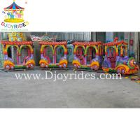 Wholesale Shopping center kids amusement rides electric mall trains from china suppliers