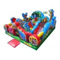 Wholesale Animal Kingdom Theme Inflatable Toddler Playground / Kids Inflatable Playground from china suppliers