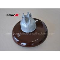 Wholesale 11 Kv 33 Kv Brown Porcelain Suspension Insulator For Distribution Lines from china suppliers