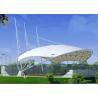 Buy cheap 1100g PVDF Membrane Tensile Shades For Stadium Bleachers from wholesalers