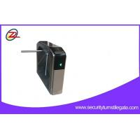Quality 316 stainless Fingerprint Tripod Turnstiles Gate  Automatic Pedestrian Barrier for sale