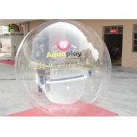 Wholesale Transparent Inflatable Walk On Water Ball Water Walking Ball 2 m Diameter 0.8mm PVC from china suppliers