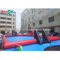 Wholesale 20*10*2m PVC Tarpaulin Inflatable Sports Games / Inflatable Football Field from china suppliers