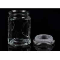 1800ml Glass Storage Jar Food Container With Lid For Food Candy Been