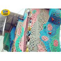 Wholesale Amusement Park Outside Play Equipment , Children & Adult Outdoor Rock Climbing Wall from china suppliers