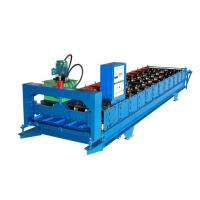 Quality Color Coated Wall Panel Roll Forming Machine , Roofing Sheet Making Machine for sale