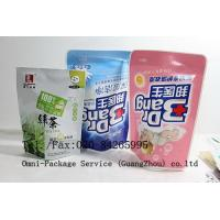 Wholesale Personal Care Stand Up Pouch Packaging For Jelly / Pet Food and Washing Powder from china suppliers
