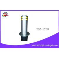 China Water resistance traffic security bollard automatic , bollards and barriers on sale