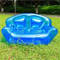Wholesale Summer Home Garden Inflatable Kids Toys Double Perosn Sofa Bed / Outdoor Indoor Beach Chairs from china suppliers