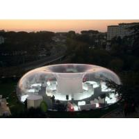 Wholesale Transparent PVC Dia 5m Inflatable Bubble Tent from china suppliers