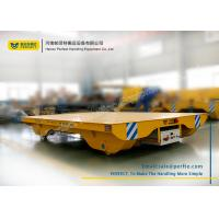 Buy cheap Solid Railway Equipment Electric Flat Car for Material Transporting from wholesalers