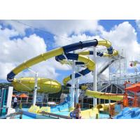 Wholesale Mix Color Outside Fiberglass Custom Water Slides With One Year Wanranty from china suppliers