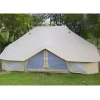 China 100% Cotton Canvas Fire Retardant Tarpaulin Outdoor Camping Bell Tents on sale