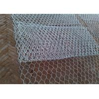 Wholesale Folding Galvanized Gabion Wire Mesh Woven Hexagonal Hole Shape 3mX1mX1m Size from china suppliers