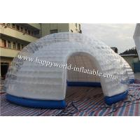 Wholesale inflatable bubble dome tent , half clear igloo tent , nflatable air tent camping from china suppliers