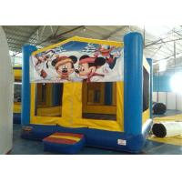 China Interesting PVC Tarpaulin Mickey Mouse Inflatable Bouncer Rental For Kids on sale