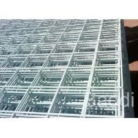 Galvanized Welded Wire Mesh Panels 0.5 - 6 M Length With Rectangular Grids