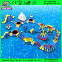 Wholesale Giant inflatable water park/Summer games for adult/used water park slides for sale from china suppliers