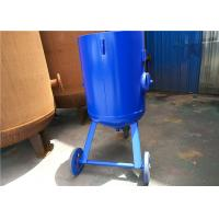 Wholesale Open Mobile Derusting Sand Blasting Machine 400mm Diameter 0.8MPA Pressure from china suppliers