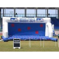 Wholesale Commercial grade  PVC tarpaulin Inflatable Soccer  Sports Games with repair kits from china suppliers