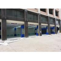 Wholesale High Efficiency Auto Body Paint Booth Prep Station PVC Curtain Separated from china suppliers
